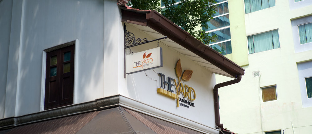 One of the boutique hotels there
