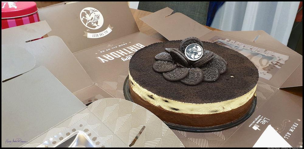 Oreo cheesecake …