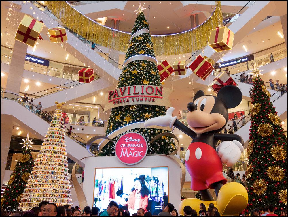 Mickey was everywhere …