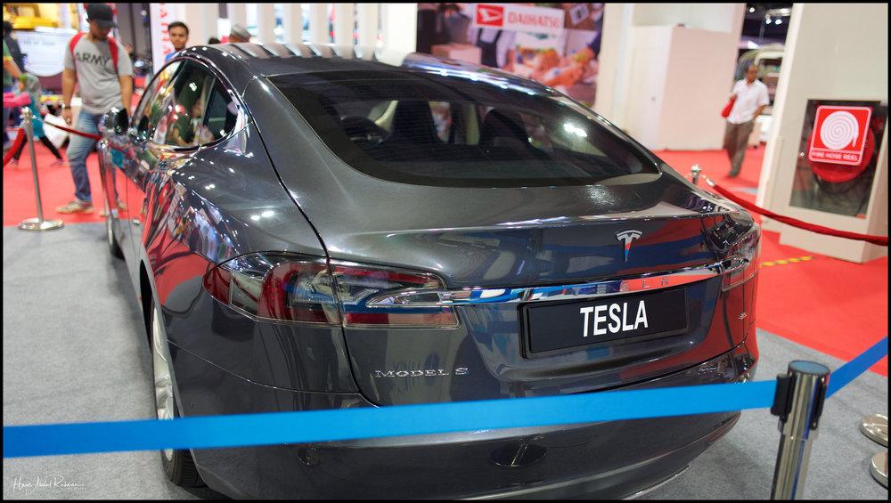 A Model S …