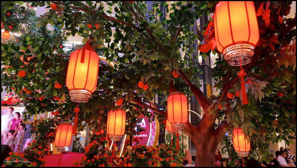 CNY decorations at Suria KLCC
