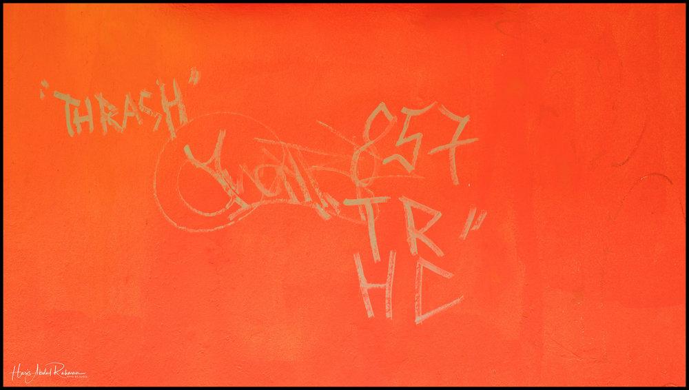 More graffiti …