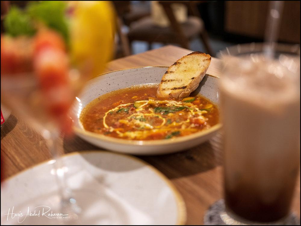 Anita's delicious minestrone