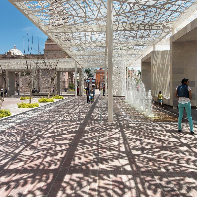 Plaza de las Jacarandas - Aguascalientes