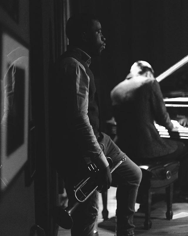 "Saturday @Djangonyc, Giveton Gelin Quintet | 7P 🏙🎺 #GGQ #Djangonyc"" . . . 📸: @m.jorquera.studio"