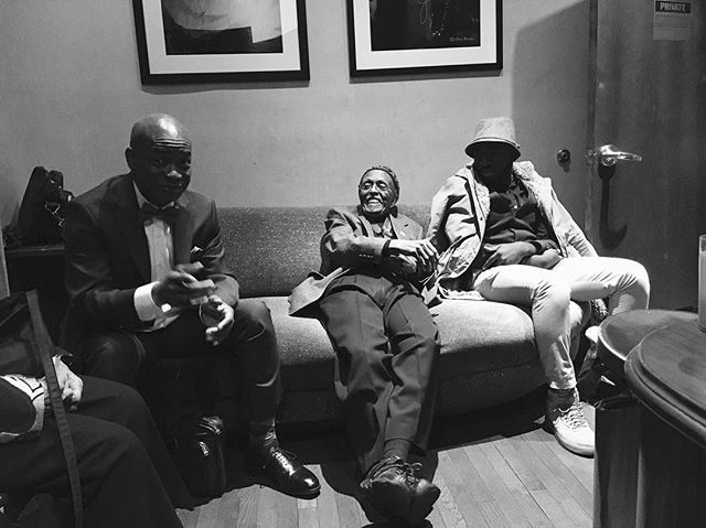 The Masters. . . . Credits: @evansherman . #bluenote #backstage #stories #laughter #leends #russellmalone #jimmyheath