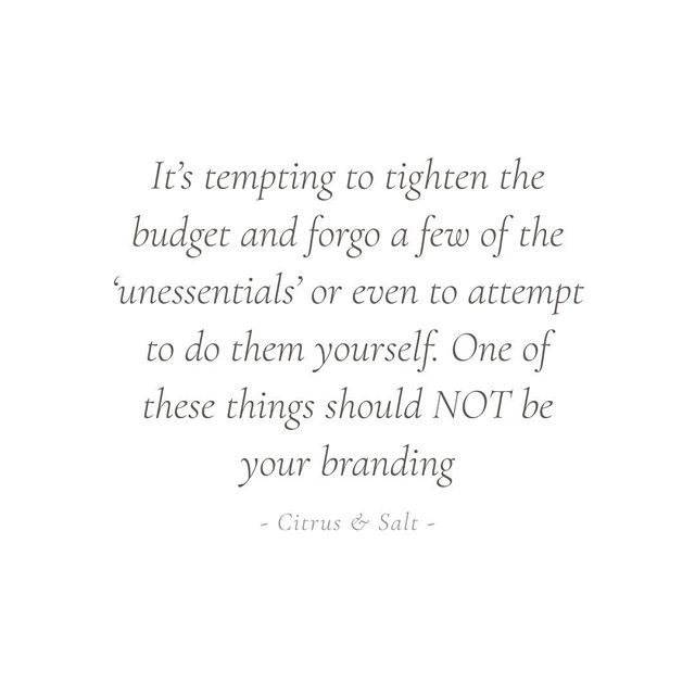 Why branding is an asset and in investment. Full read in Journal/Blog - link in bio