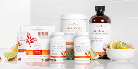 Young Living Targeted Nutrition Mindwise Aminowise Alkalime