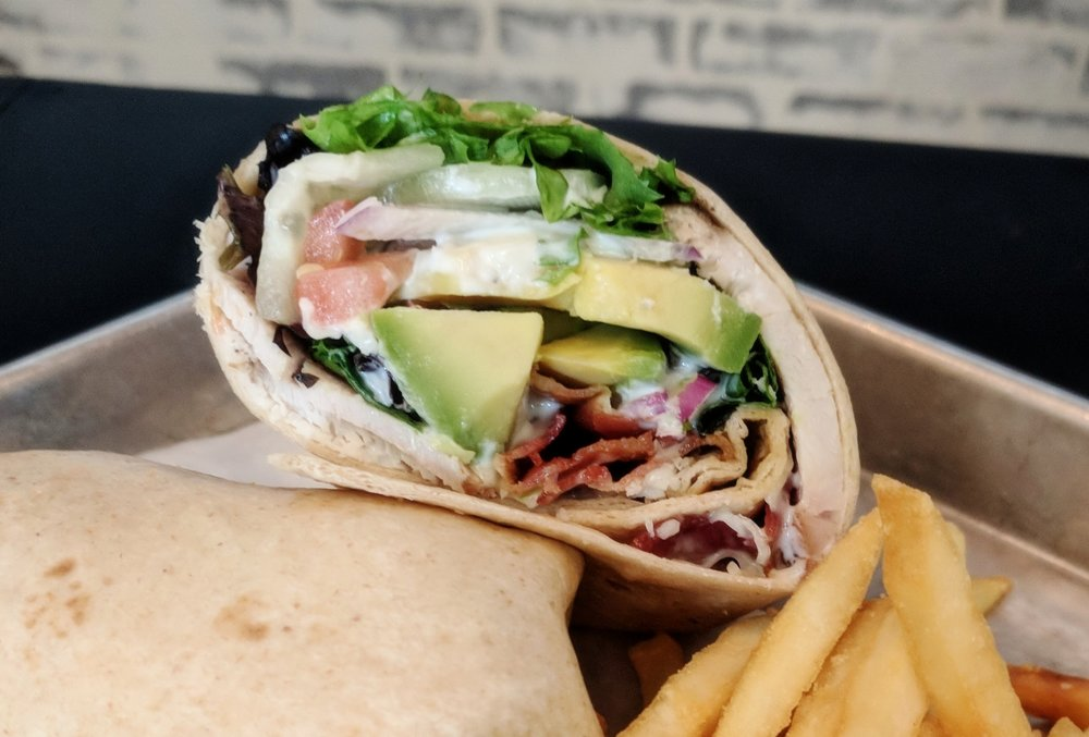 Turkey Bacon Avocado Wrap