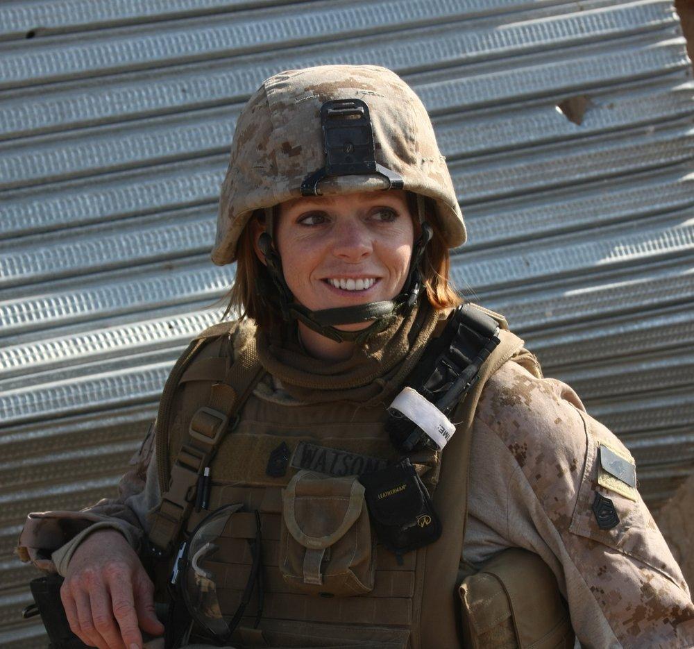 Julia Carlson USMC MSgt Ret.