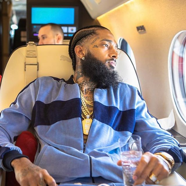 This one messed me up!  Rest In Peace King Nip!!! 🙏🏽