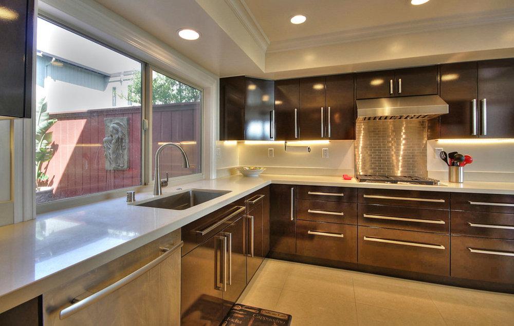 Los Gatos Kitchen_Contemporary. Interior Design
