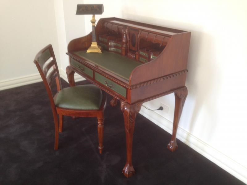 Antique Reproduction Writing Desk. DESK-DSK021 - Desks And Writing Tables —  Classiques En - Antique Reproduction Desks Antique Furniture