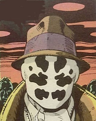 The only Rorschach Test that matters is how he kills you.
