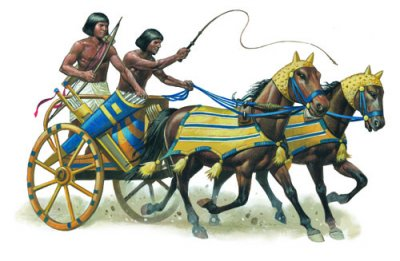Egyptian legal team. Depicted here armed with whips, bows and obscure precedents.