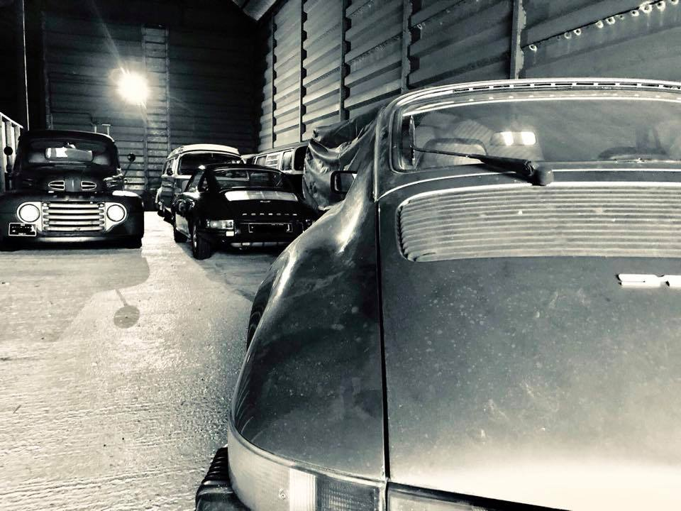 classic car storage hitchin