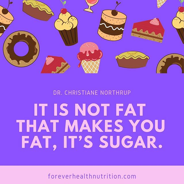 Sugar makes you fat.   Sugar tricks your body into wanting more and more because your body is getting the calories but no nutrients, so your body is like, I need more because I didn't get what I need.   This is how sugar causes cravings and also makes you gain fat.    #happiness #behappy #love #instagood #healthyliving #fuelyourbody #eatright #playtowin #eattowin #losing #weightlossmotivation #inspiredaily #womenhelpingwomen  #fitnessover40  #sugardetox #nosugar #eathealthy