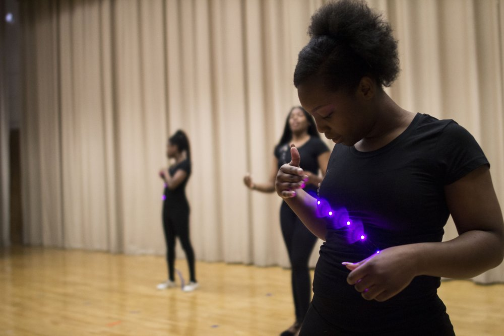 """Lighting the Stage on Diversity in STEM - """"It's not about color and where you come from–it's what you have inside of you and what you can bring to the table. It's a beautiful program.""""– Parent of STEM From Dance student"""