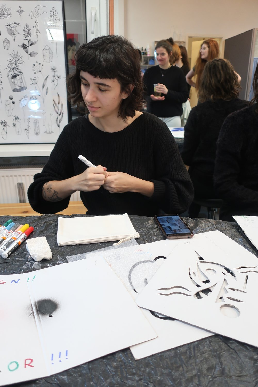 Artist Be tattoo drawing on Fabric Makeup Bags.jpeg