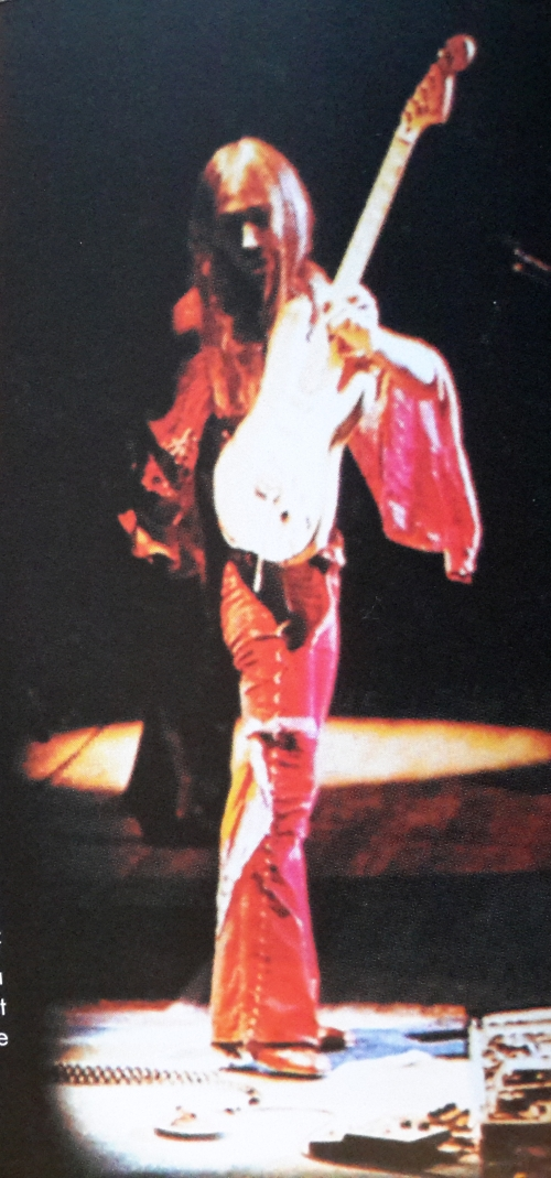 Uli, onstage in Japan 1978 - classic Tokyo Tapes shot.