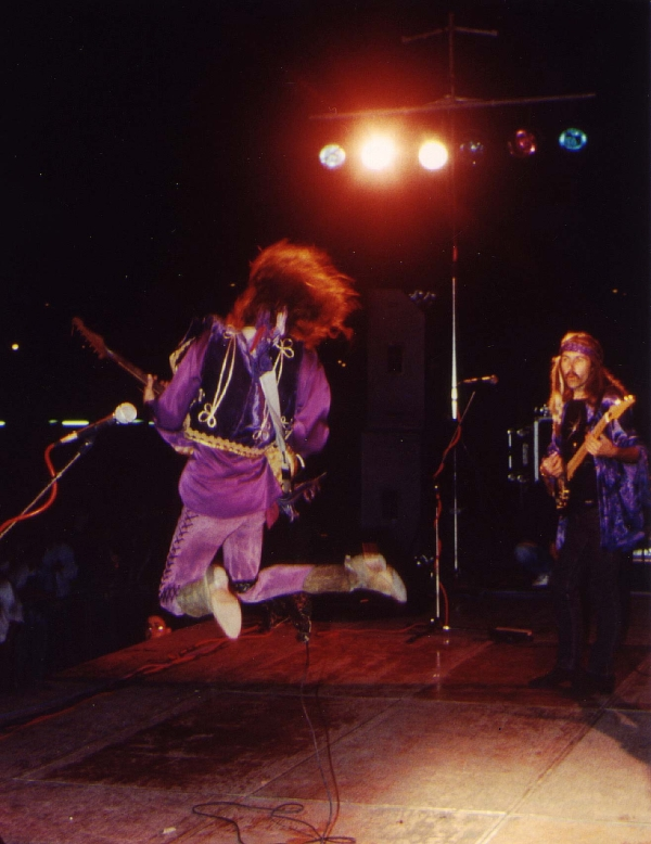 JIMI HENDRIX CONCERT in ITALY with RANDY HANSEN & ULI Ravenna, Palazzo dell Arte, 6. September 1992