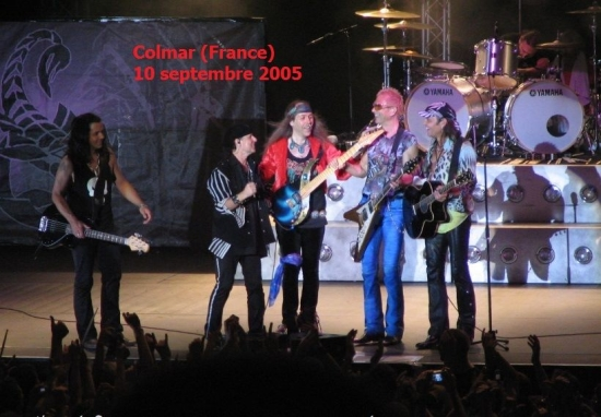 1st RE-UNION SHOW & SCORPIONS SINCE TOKYO TAPES Colmar, France, Parc Expo, 10. Sept. 2005