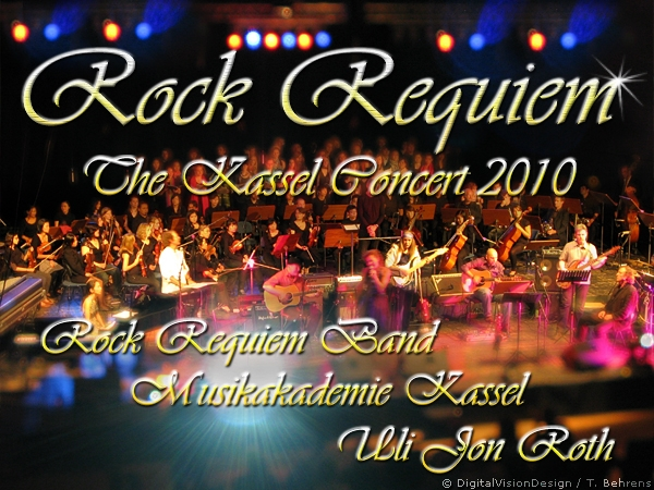 "Uli guesting with Kassel Orchestra on ""Rock Requiem"" Stadthalle Kassel, 27. August 2010"