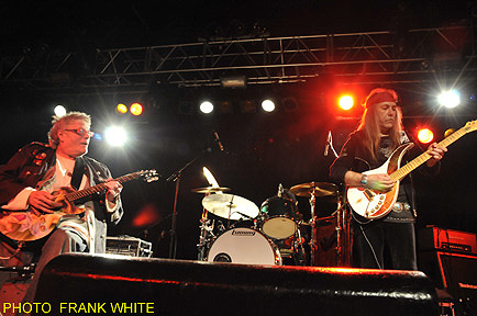 LESLIE WEST as ULI'S guest at Starland Ballroom in Sayreville, New Jersey, 4. February 2012 (House of the Rising Sun)