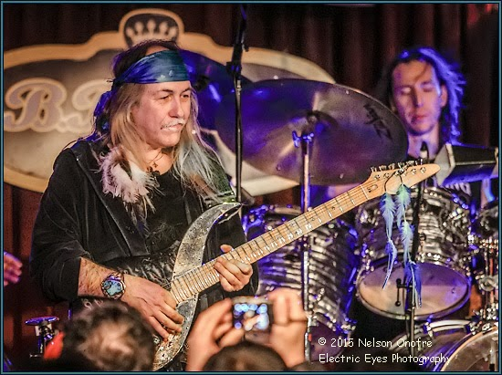 EXTREME GUITAR TOUR OF USA 2015 - ULI & KOFI BAKER   BB KING'S, NEW YORK,  8. February 2015