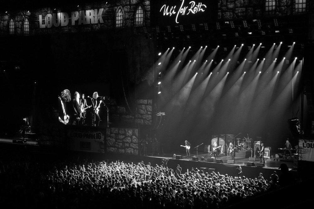 ULI JON ROTH SET AT LOUDPARK FESTIVAL2016 IN TOKYO Saitama Super Dome, Saitama, Japan - 8. October 2016
