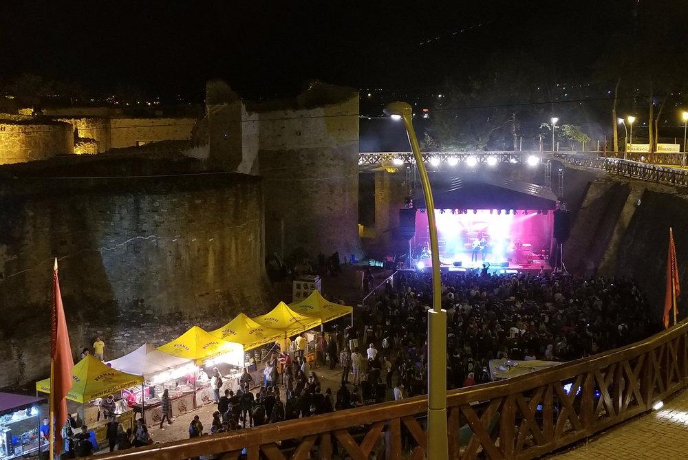 HEADLINING BUCOVINA CASTLE ROCK FESTIVAL 2017 - ROMANIA  Suceava, Romania - 27. August 2017