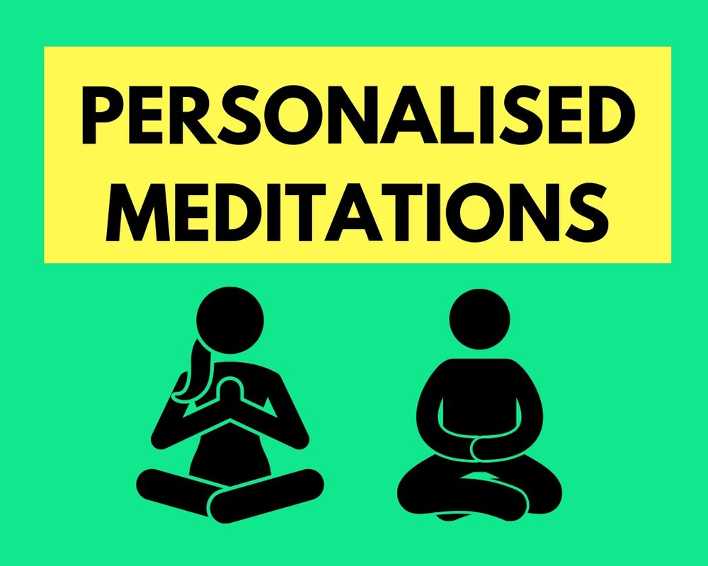 Unlike anything else - If you're having trouble connecting to meditation or feeling like you can't quite get the hang of it, don't panic, there is a way. I record personal meditations for your specific needs helping you to connect with who you truly are on a deeper level. Just sit back and let the magic work for you. Click here to get yours.