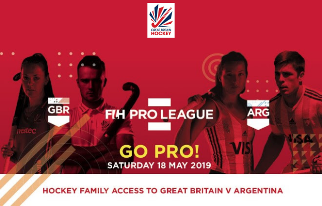Discount FIH Pro League Tickets - Save 10% on tickets when purchased before midnight on December 3rd!