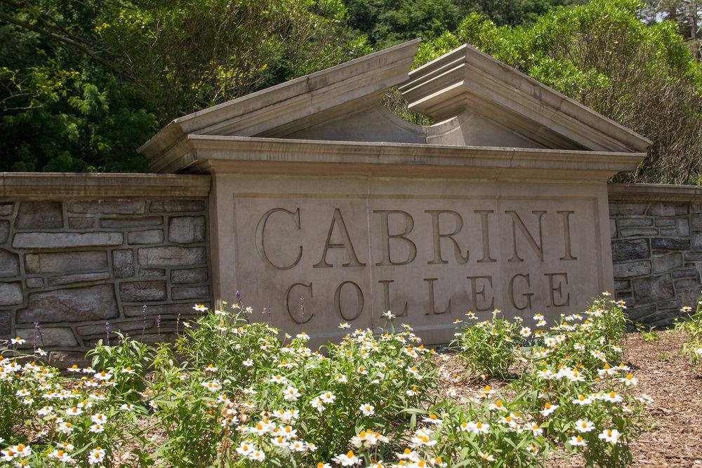 Cabrini College, now Cabrini University