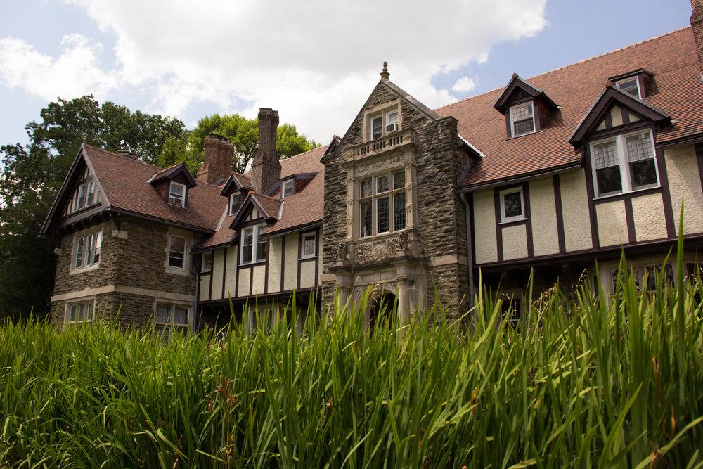 The historic Woodcrest Mansion
