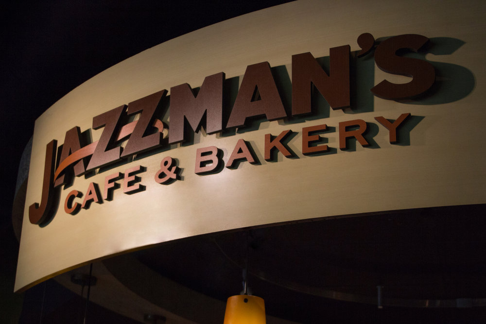 Jazzma's Cafe, located in the Widener Center