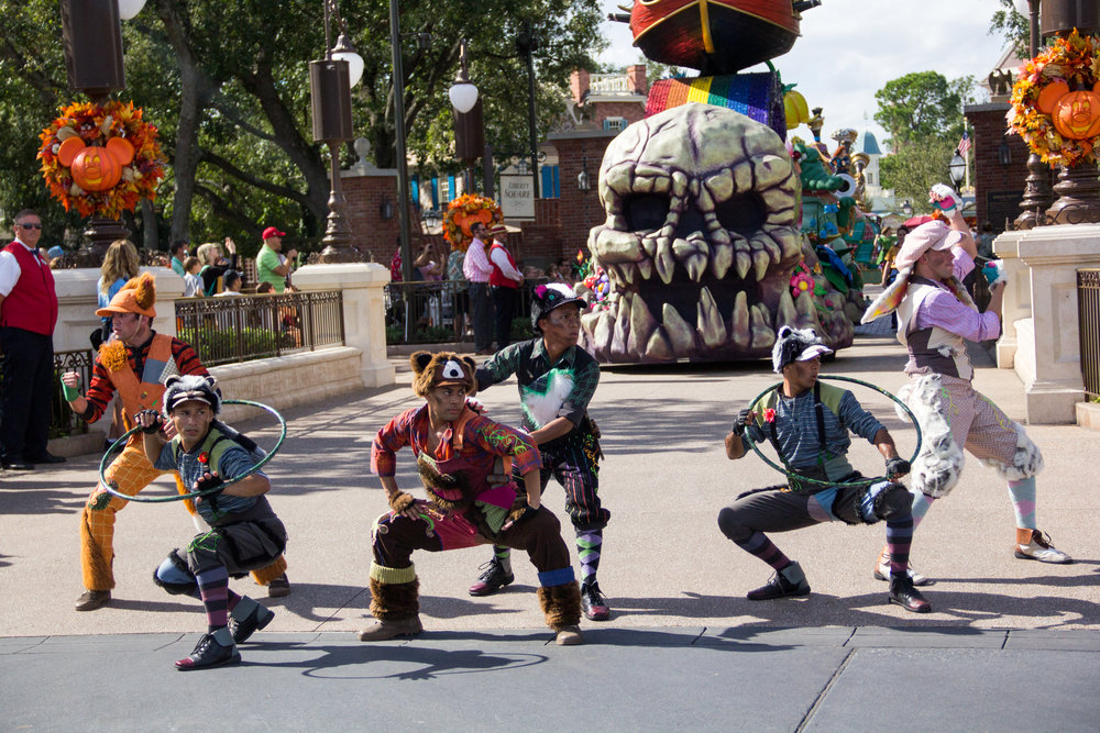 The Lost Boys, Festival of Fantasy parade