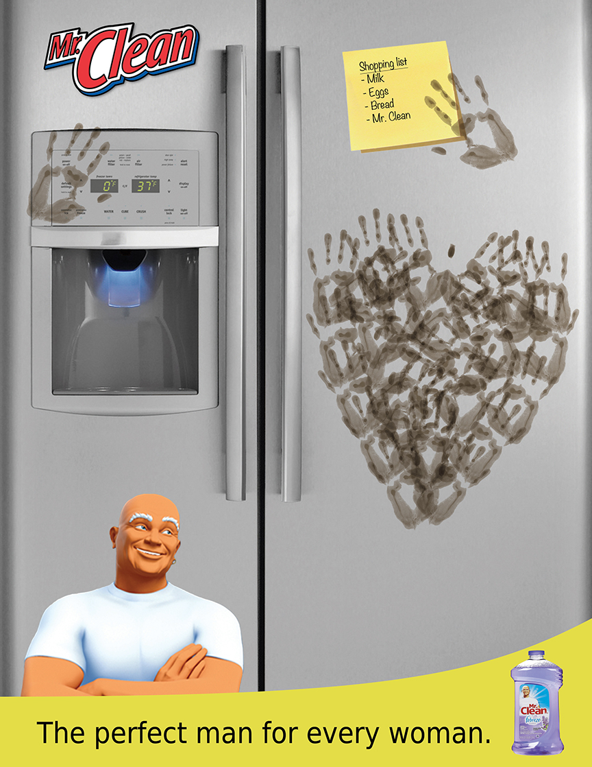 Mr. Clean Magazine Ad