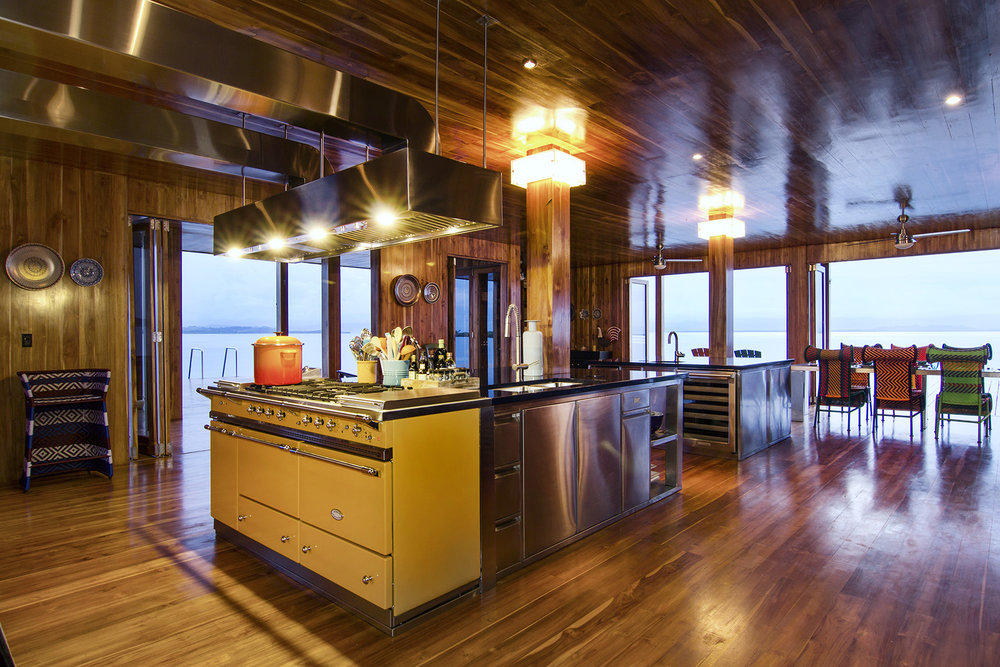 KITCHEN - • Full appliances• Lacanche French range• Espresso Bar