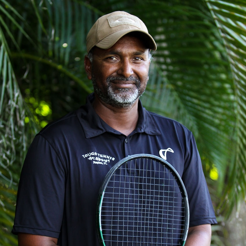 vimal patel, tennis instructor, tough tennis academy, tennis academy naples florida