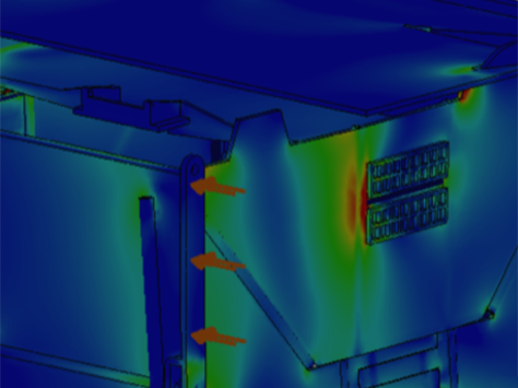 Engineering Analysis - Before you start the prototype process, you want to make sure your design is going to be feasible. We specialize in finite element analysis and other computer simulations to pinpoint weak points in a design.