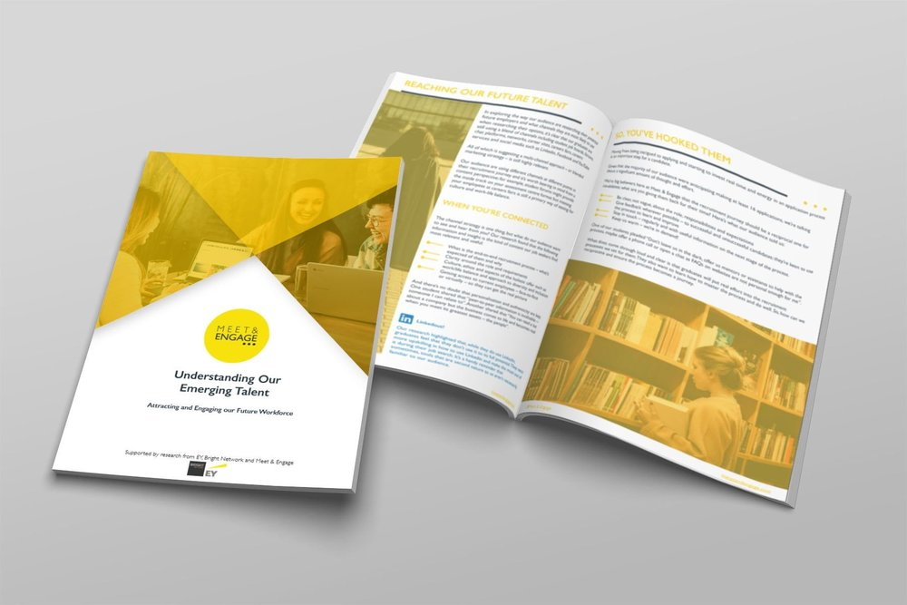 Meet and Engage's 'Understanding Our Emerging Talent' white paper featuring 'Moments of Communication' editorial -  download here