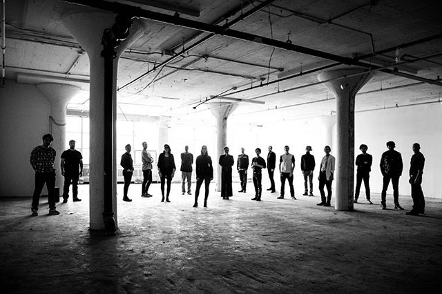 We love this photo from last year before we built out our new and greatly improved space. Work life is so much better now with all this room to breathe! A huge print of this hangs in the kitchen now. We will always remember this time in our company because of this photo. And, even though, we didn't move over to Industry City and stayed in Brooklyn Square - we are happy.  Our overhead went way up but it's way less than Industry City would have been. And low overhead is pretty key for long term sustainability & growth. You can't have everything. We do what we can. And we thrive. The moral of this story? Come check out #brooklynsquare 📸🖤 #brooklynphotostudio #brooklyncommercialrealestate #smallbusiness #smallbusinesslife #commercialrealestate #officespace #homepolish thanks Daniele from @homepolish for working on the floor plans with us!!