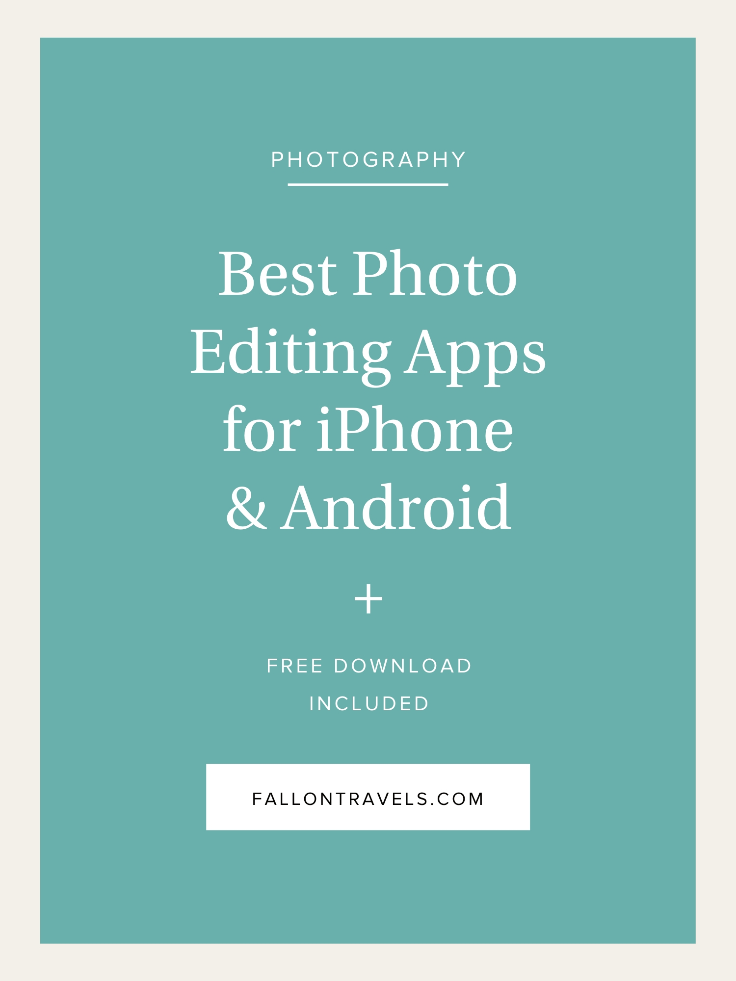 Best Photo Editing Apps for iPhone — (now includes Android