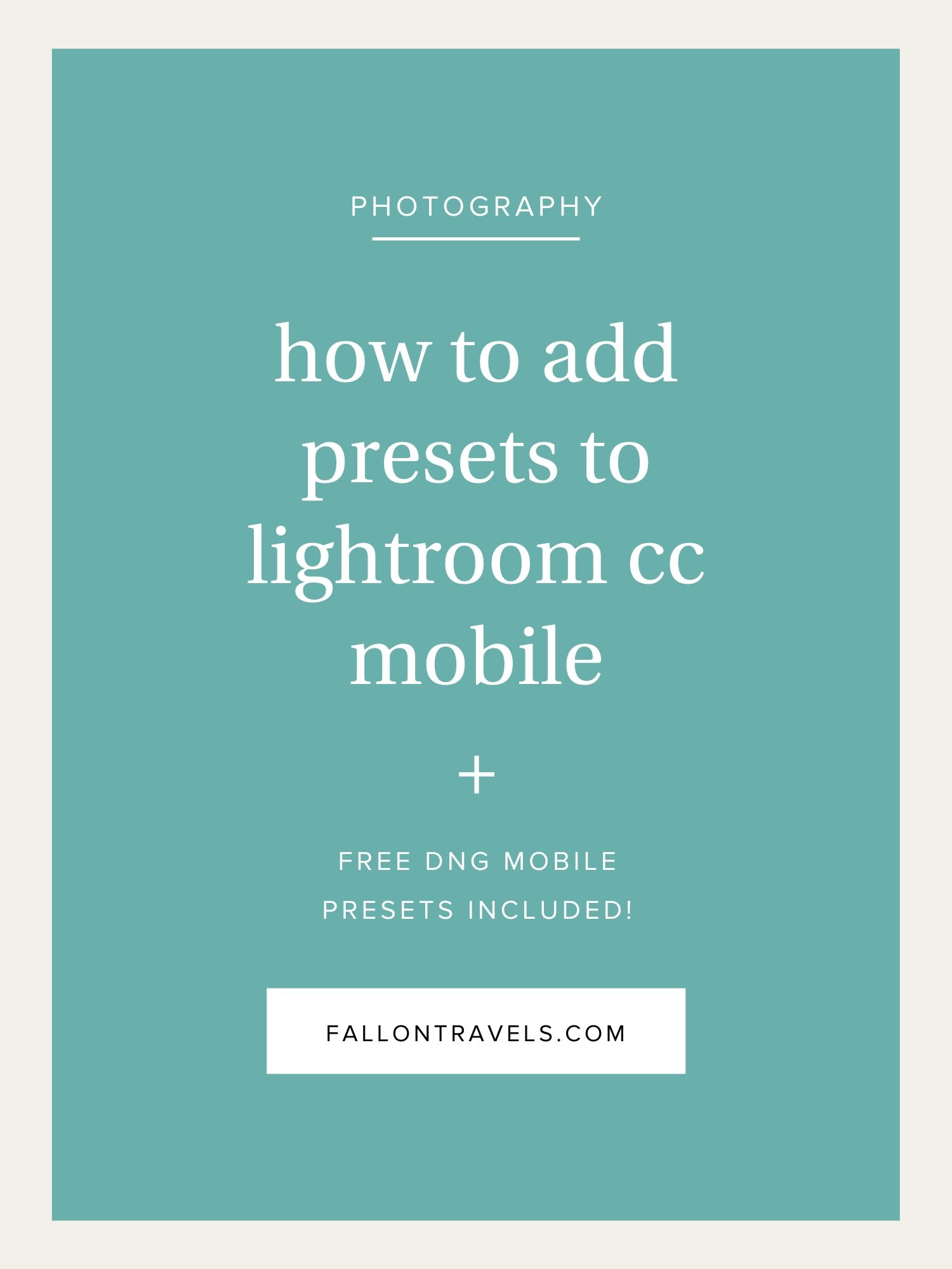 How to install free lightroom presets on iphone   Peatix