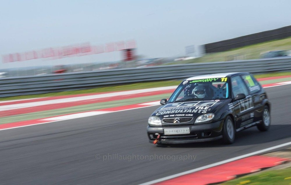 Luke Browning  at Silverstone