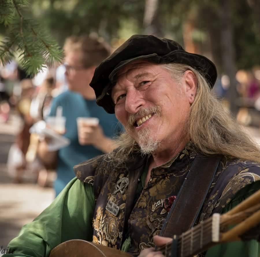 Garry Siler - With a career spanning over two decades at many renaissance faires and other events across the entire United States, Garry is a seasoned and highly regarded performer. We are so pleased to have him returning for 2019! His performances are always a well loved part of our event. His biggest influences in music are the Clancey Bros., Tommy Machem, The Irish Rovers and Dougie McClean to name a few. He has also played bluegrass and playing rock and roll for many years.