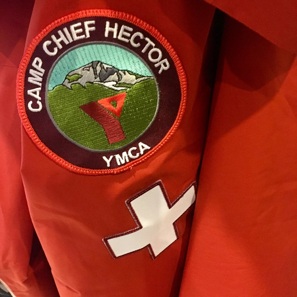 Camp Chief Hector YMCA staff patch