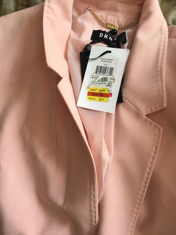 The Bigger The Brand, The Better The Deal Will Be On Clearance. - Did I think I was going to snag a DKNY blazer for under $24 when I walked into Macy's? No, I did not, but it was an awesome surprise!