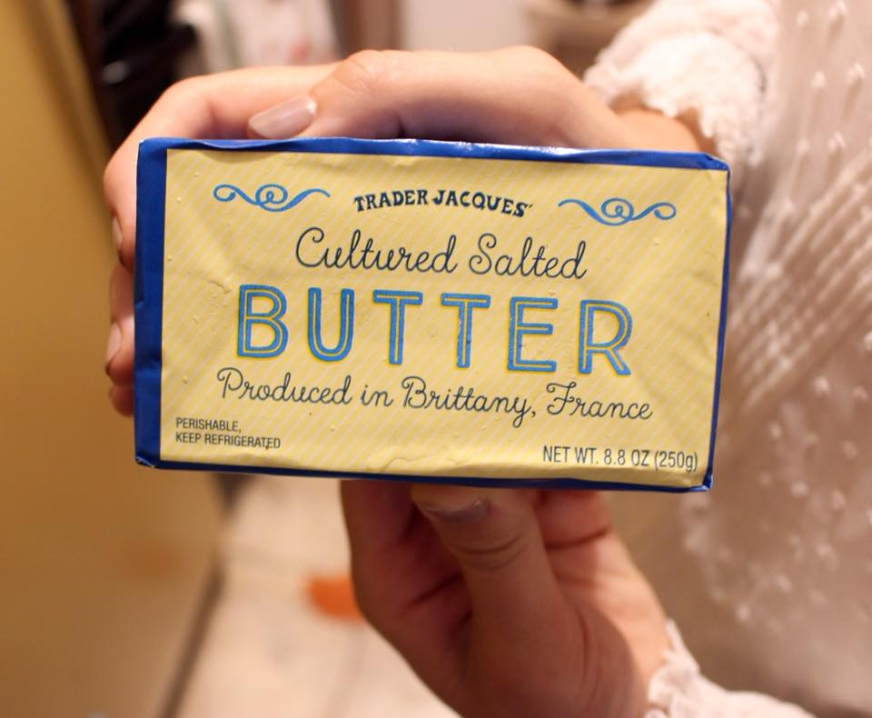 Butter them up!!